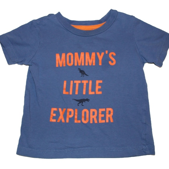 100 Top Quality 2b5b7 C901f Carters Boys Little Explorer Tee Size 18 Months Outlet Online 89fb2 6a8fc Birthday Boy Tshirt